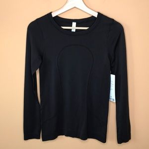 NWT Lululemon Swiftly Tech Long Sleeve Black